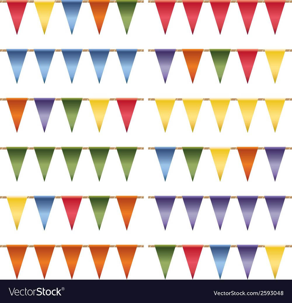 Triangle bunting vector   Price: 1 Credit (USD $1)