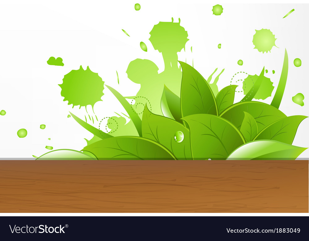Eco wood background vector | Price: 1 Credit (USD $1)