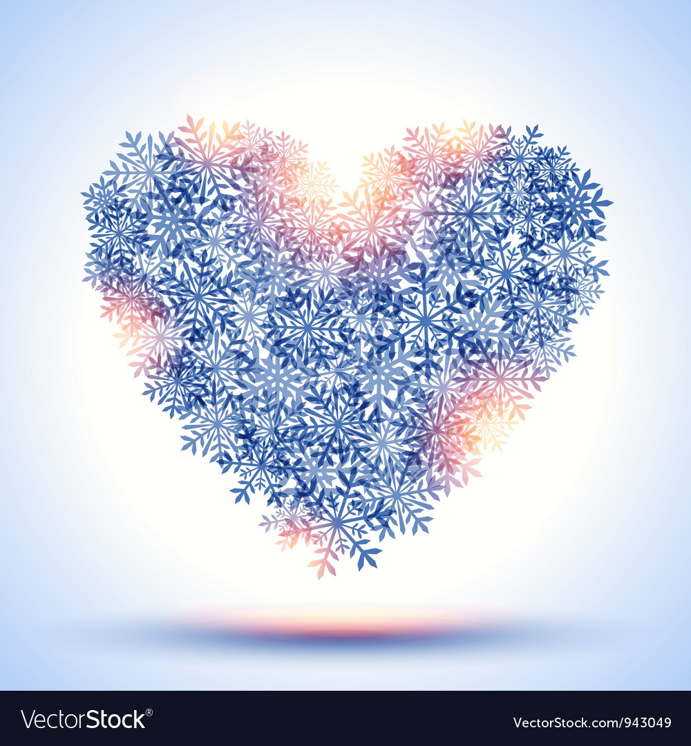 Frozen heart vector | Price: 1 Credit (USD $1)