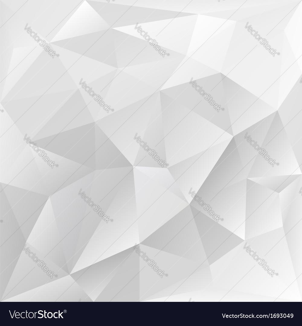Grey polygonal texture corporate background vector | Price: 1 Credit (USD $1)