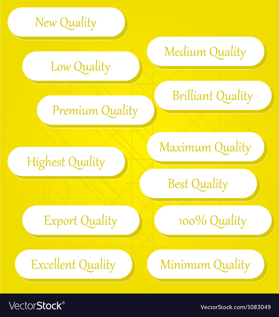 Quality buttons 2 vector | Price: 1 Credit (USD $1)