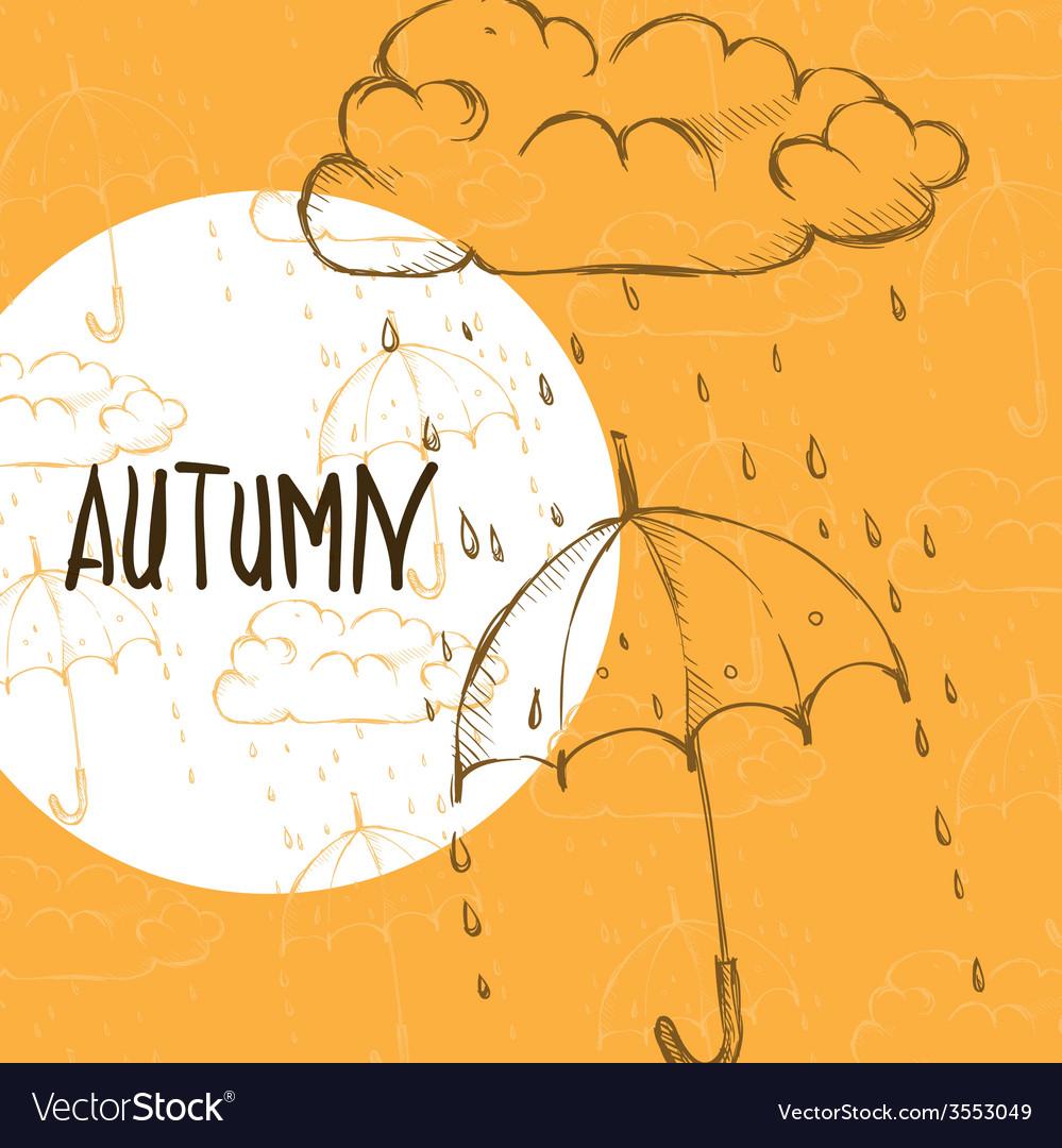 Rainy season background vector   Price: 1 Credit (USD $1)