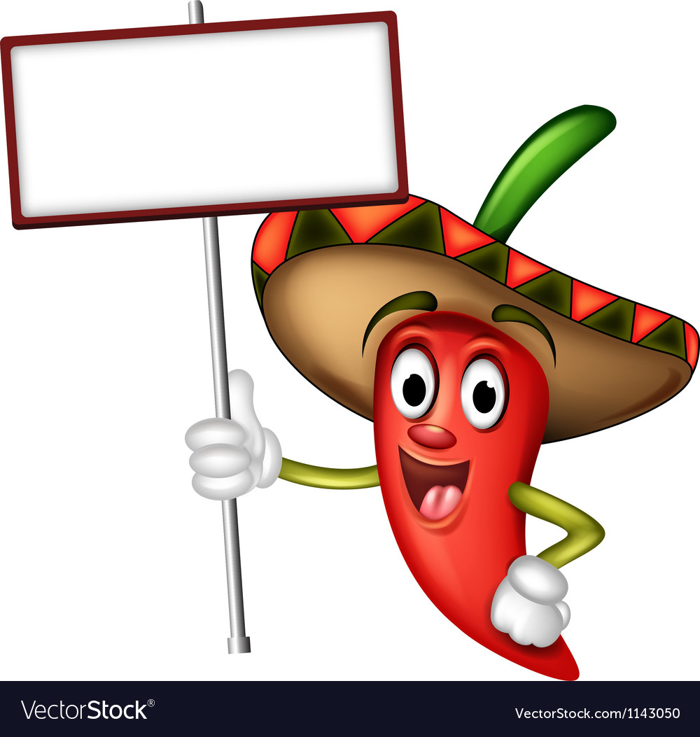 Mexican red chilli vector | Price: 1 Credit (USD $1)