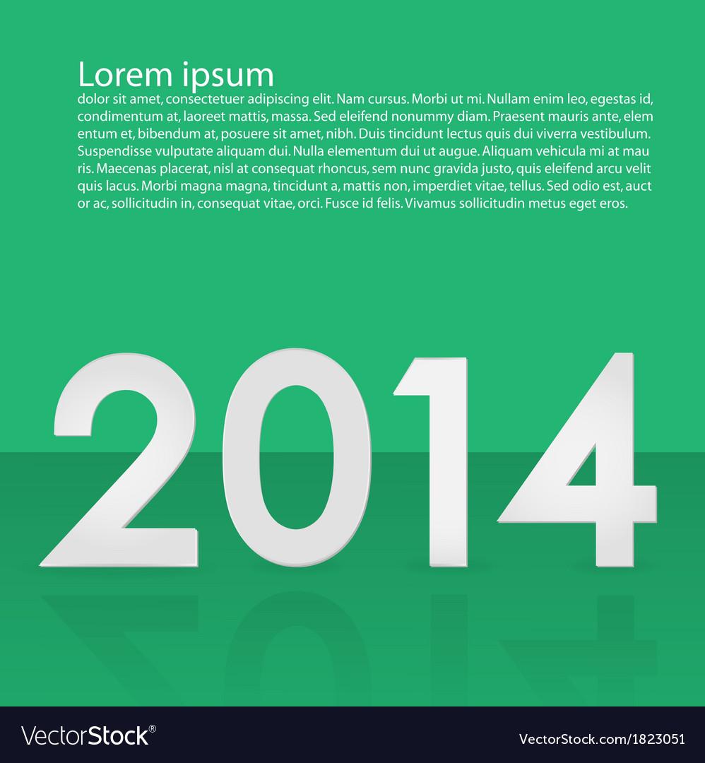 2014 background vector | Price: 1 Credit (USD $1)