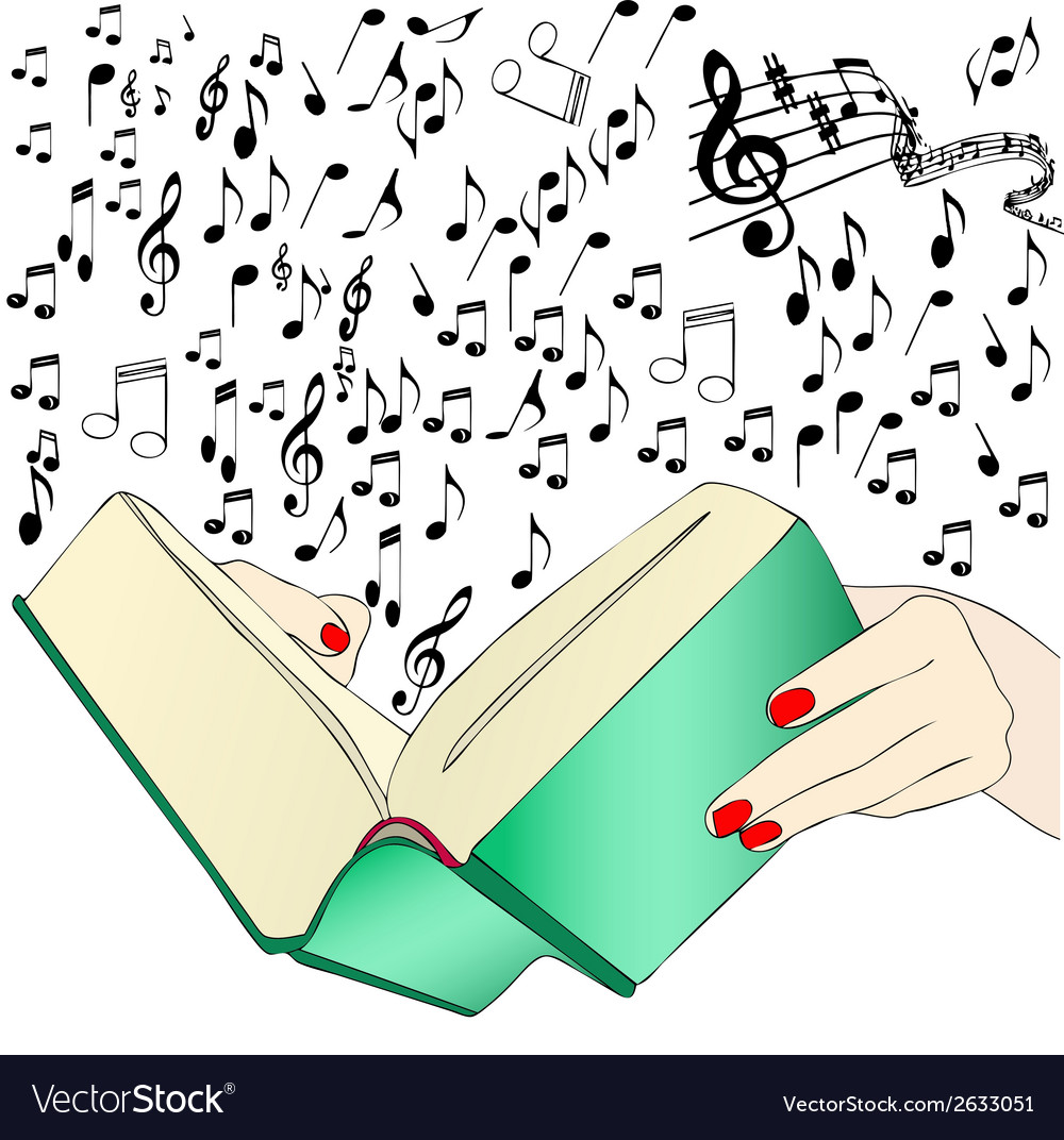 A music book vector | Price: 1 Credit (USD $1)