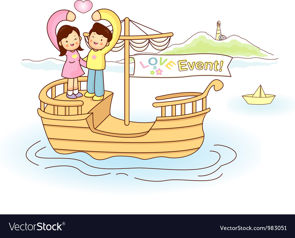 Couples love of travel vector | Price: 3 Credit (USD $3)