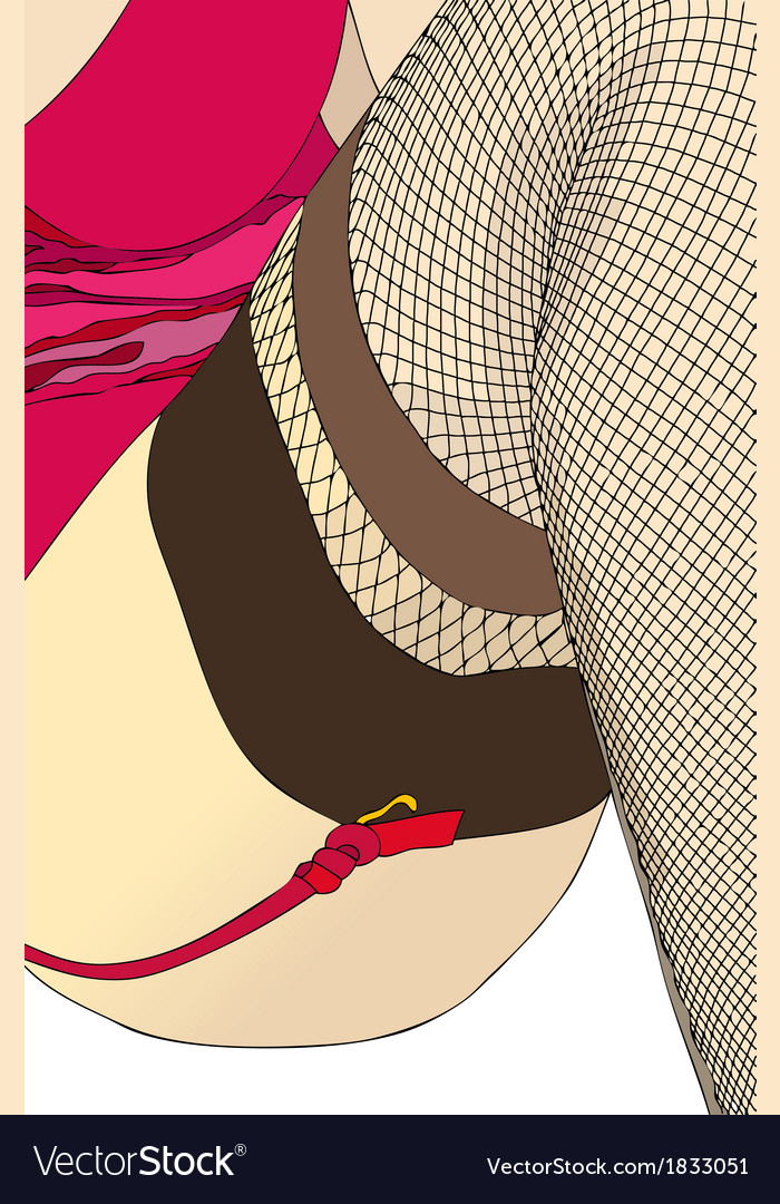 The feminine sensuality the number twenty four vector | Price: 1 Credit (USD $1)