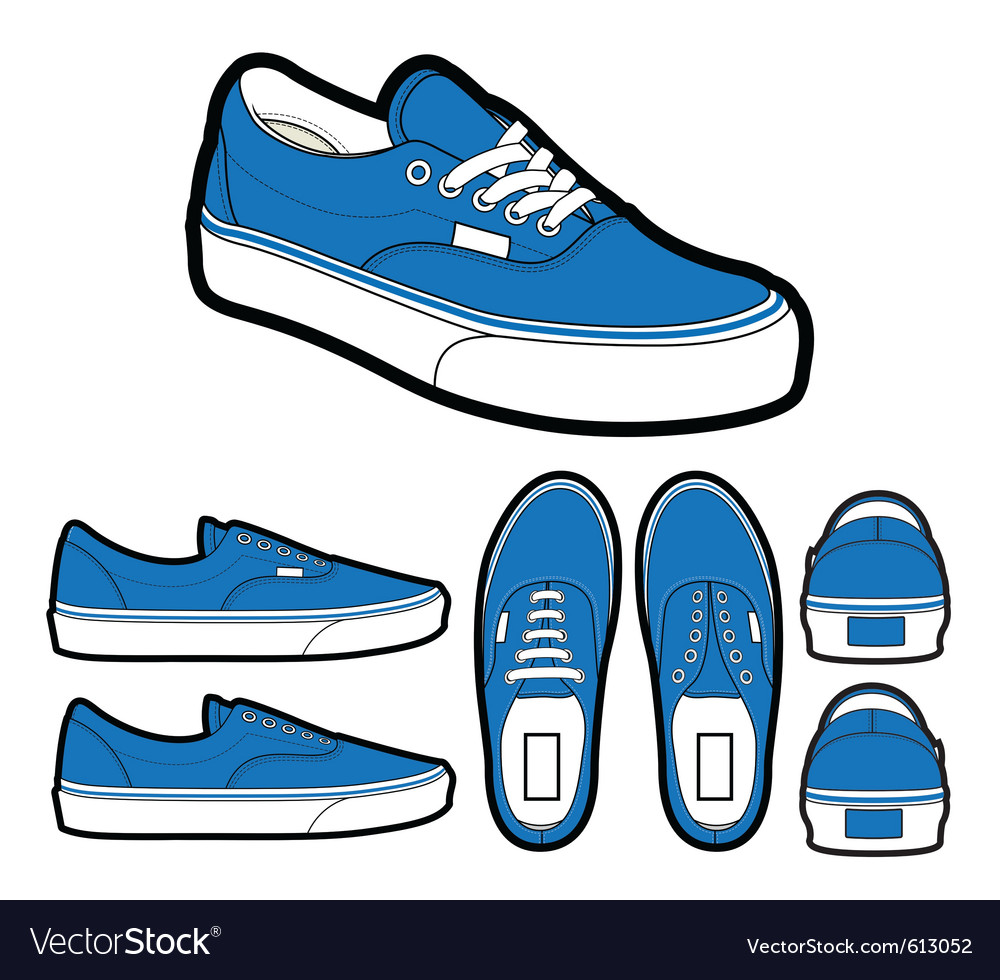 Classic era shoes vector | Price: 1 Credit (USD $1)