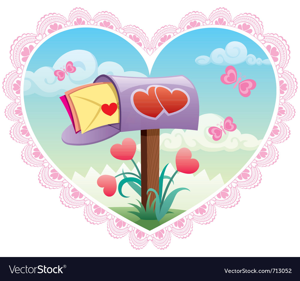 Love mail vector | Price: 3 Credit (USD $3)