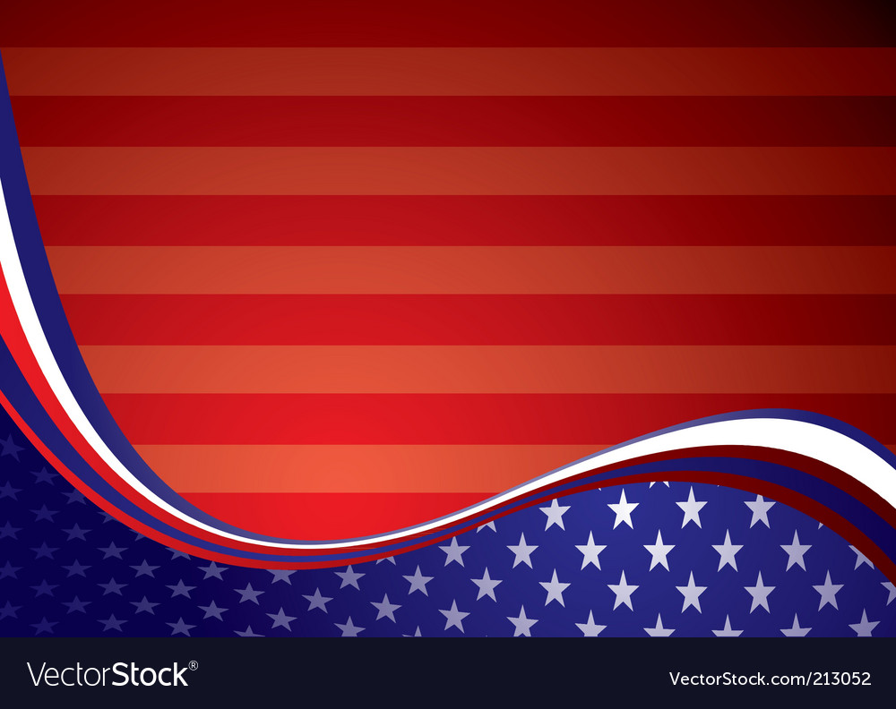 Usa american background vector | Price: 1 Credit (USD $1)