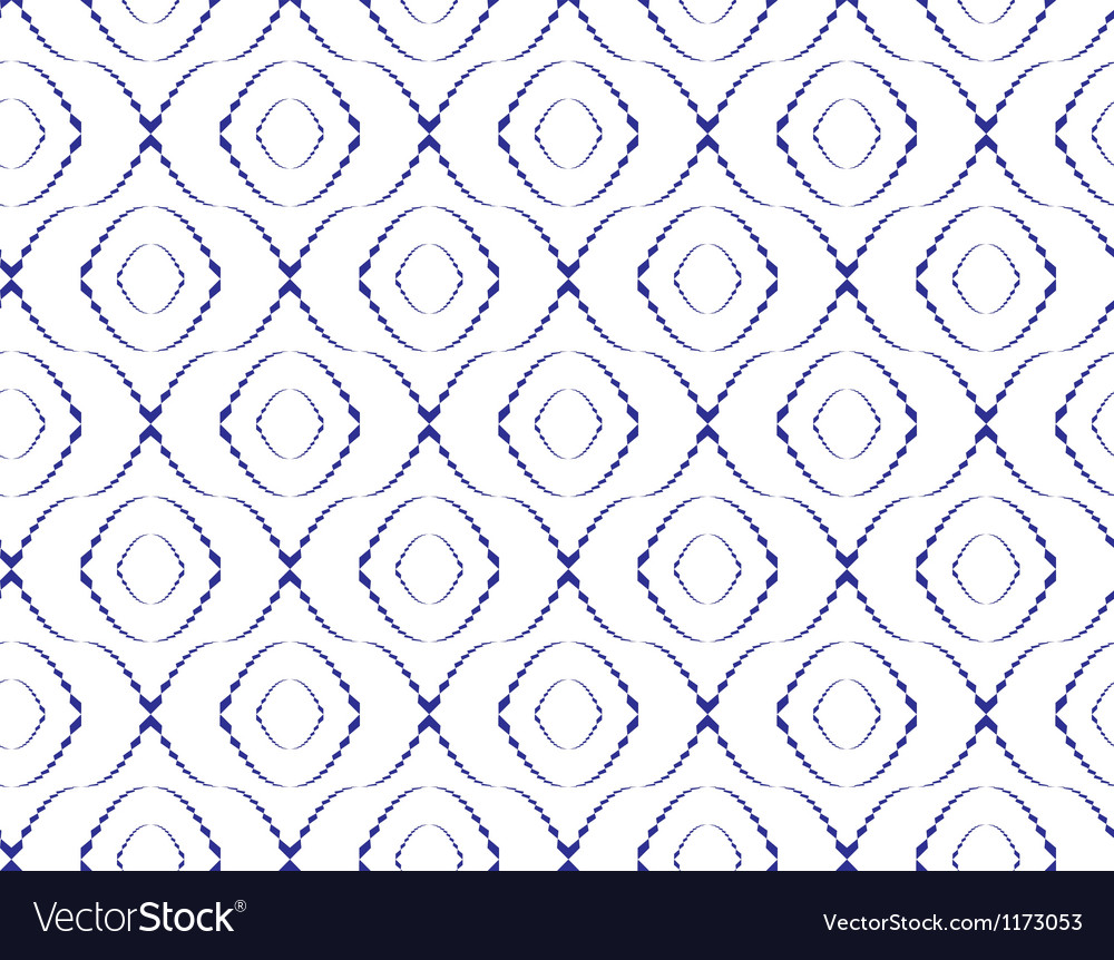 Abstract seamless pattern with ellipse-shape figur vector | Price: 1 Credit (USD $1)