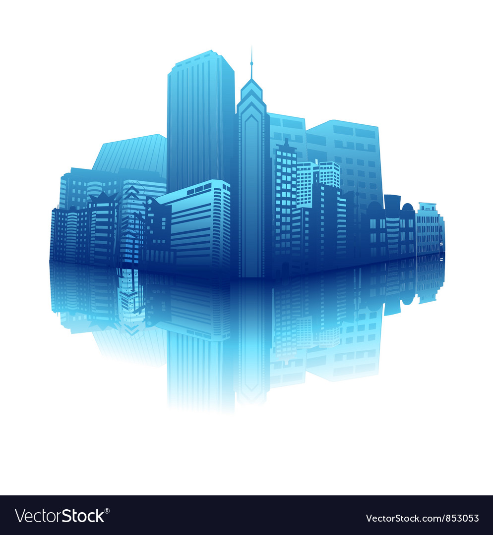 Abstract urban background vector | Price: 1 Credit (USD $1)