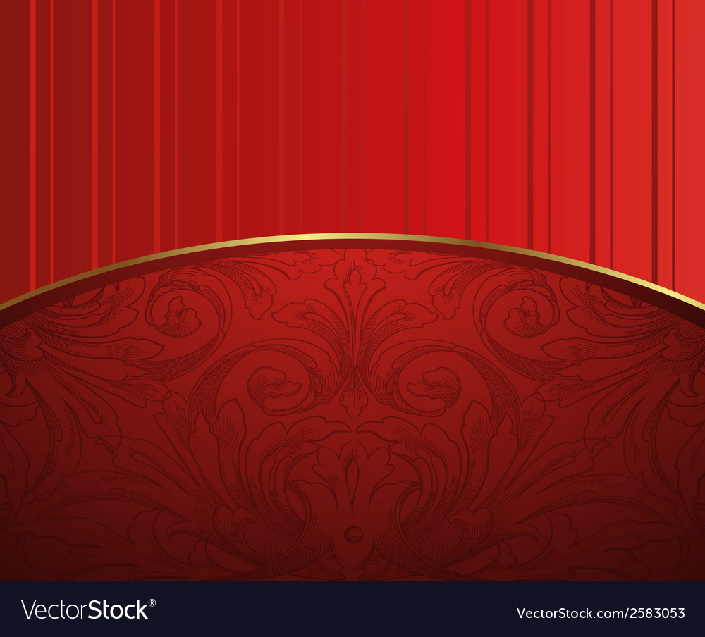 Red floral for text abstract backg round vector | Price: 1 Credit (USD $1)