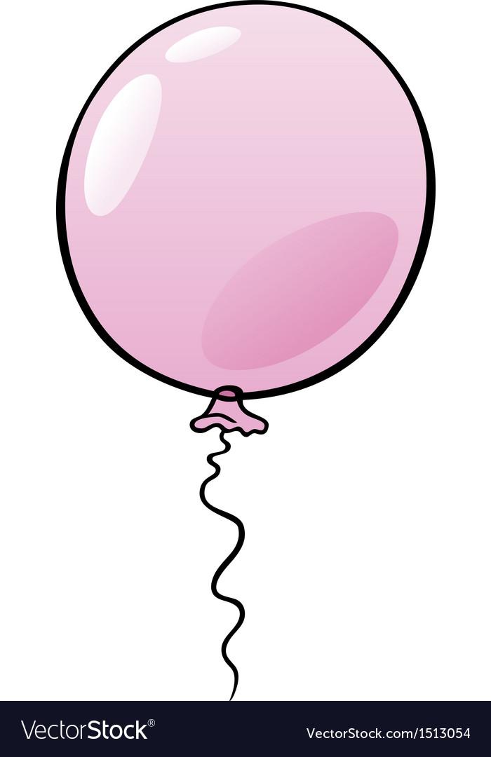Balloon clip art cartoon vector   Price: 1 Credit (USD $1)