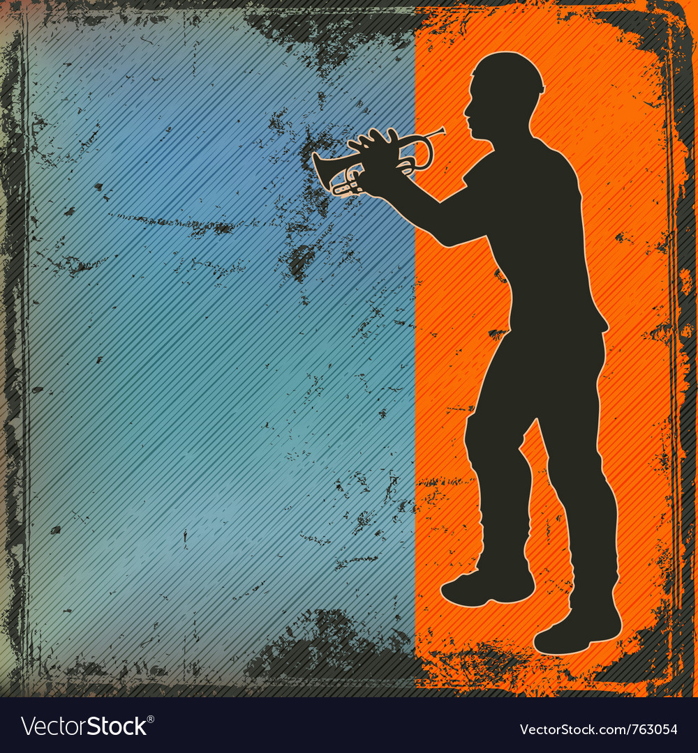 Brass player vector | Price: 1 Credit (USD $1)