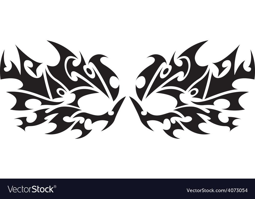 Tribal tattoo 4 vector | Price: 1 Credit (USD $1)