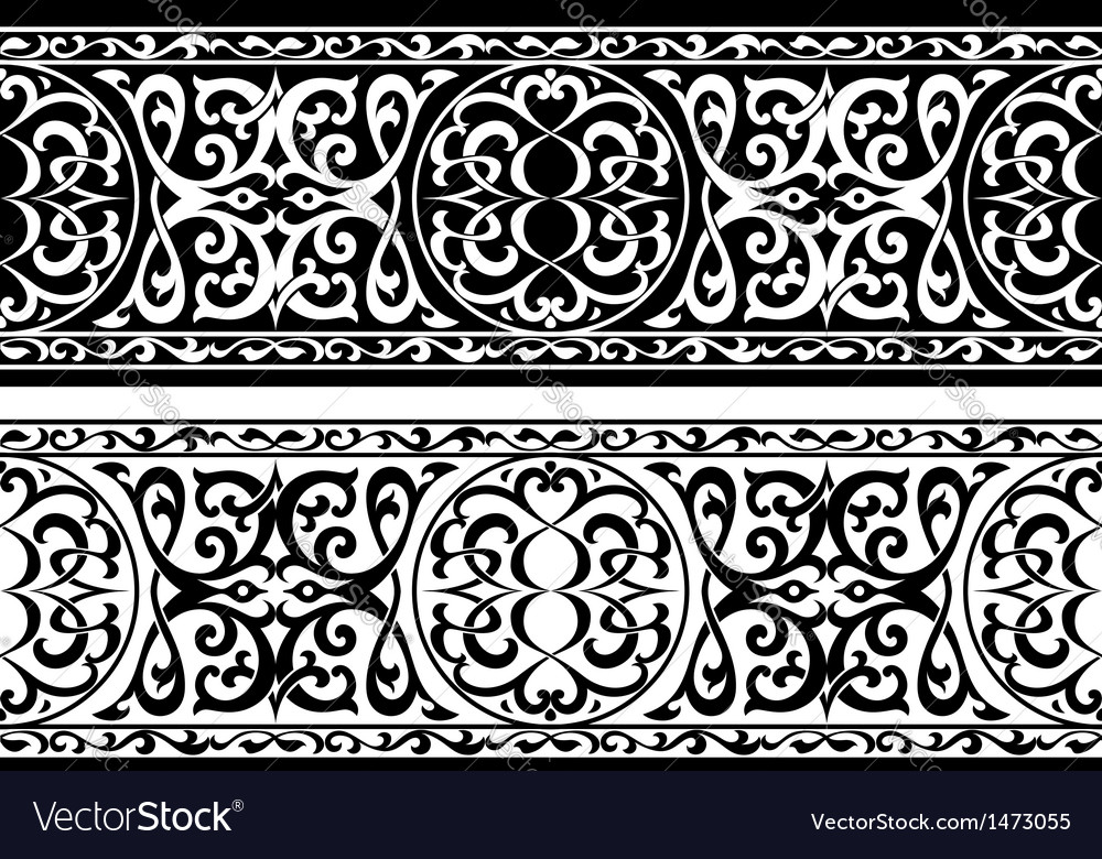 Arabian or persian ornament vector | Price: 1 Credit (USD $1)