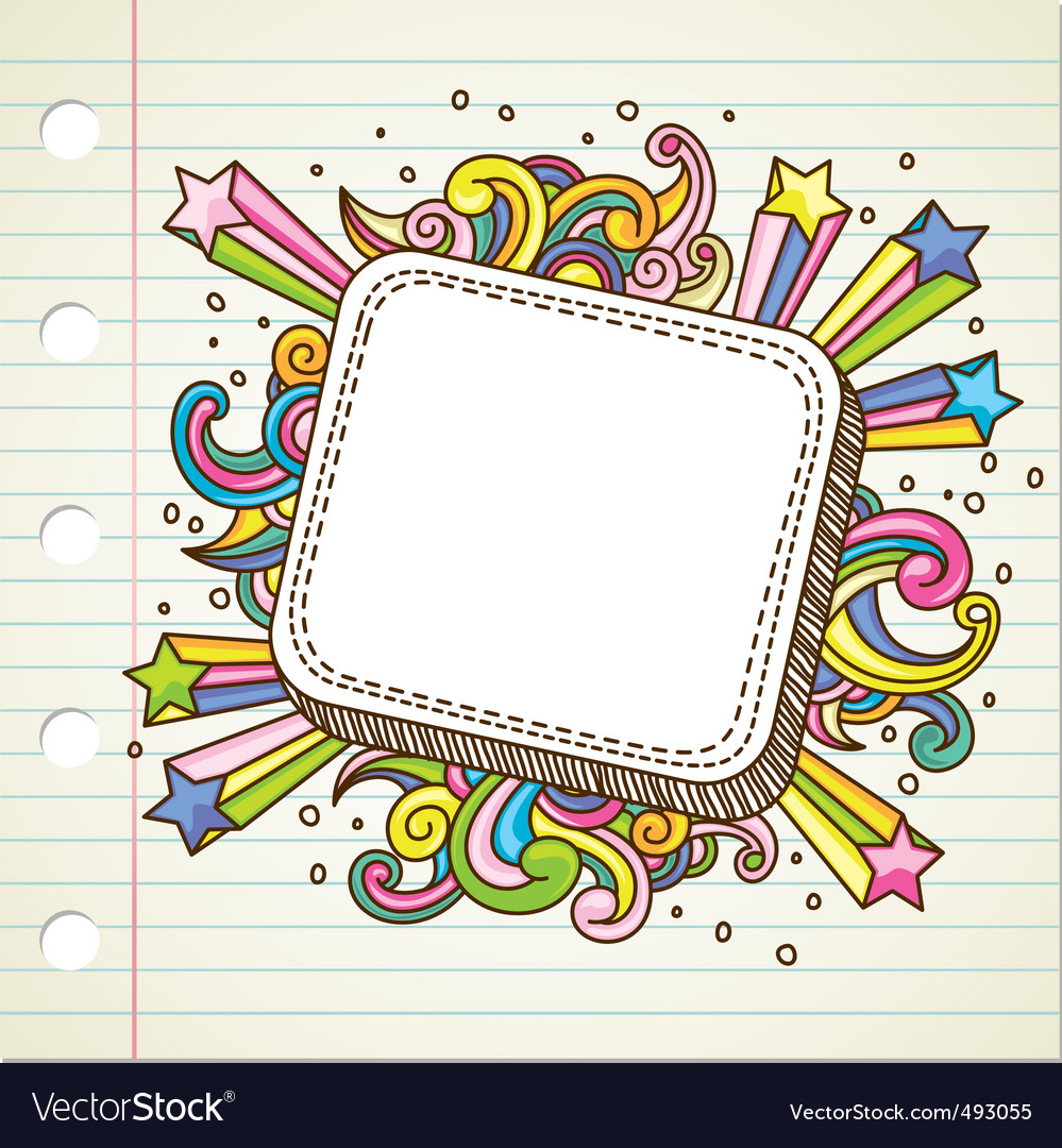 Banner doodle vector | Price: 1 Credit (USD $1)