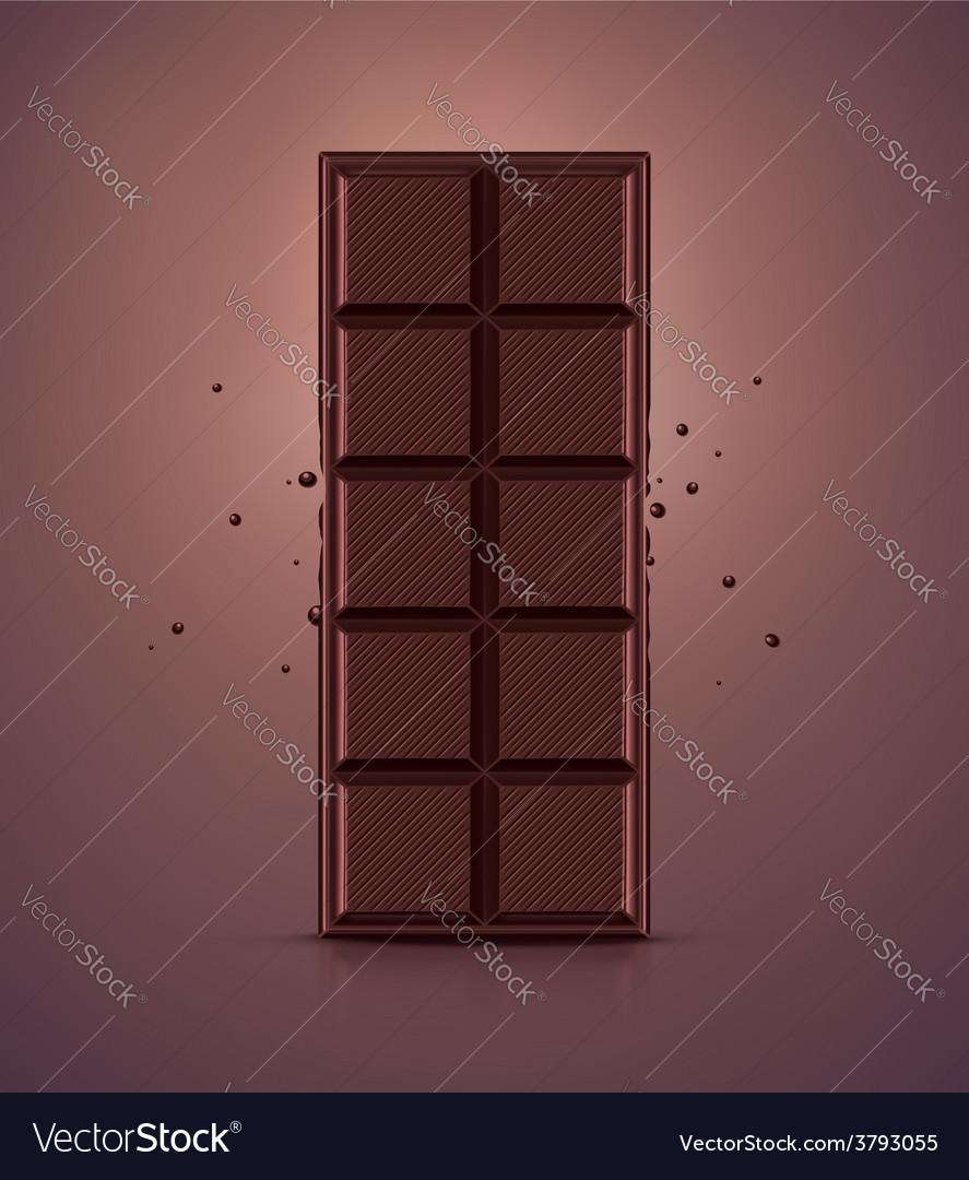 Chocolate bar vector | Price: 3 Credit (USD $3)