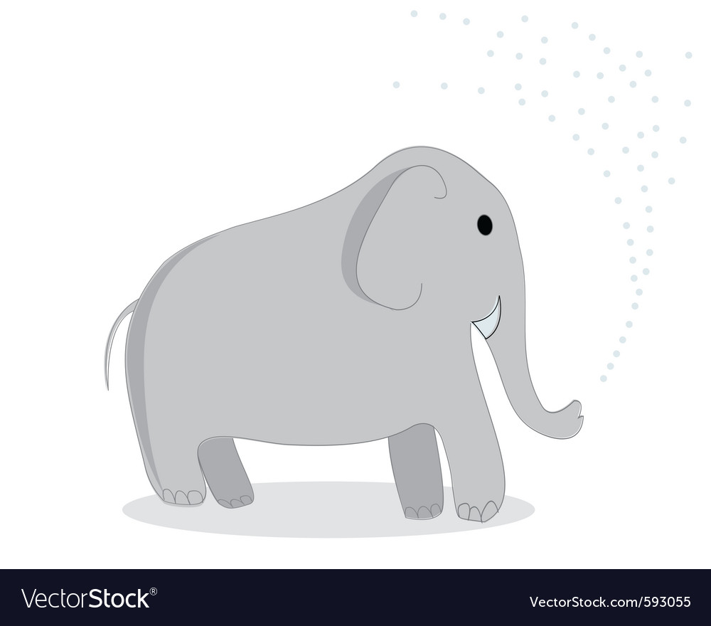 Clip art elephant vector | Price: 1 Credit (USD $1)