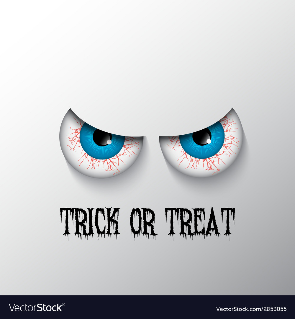 Trick or treat halloween background 2508 vector | Price: 1 Credit (USD $1)