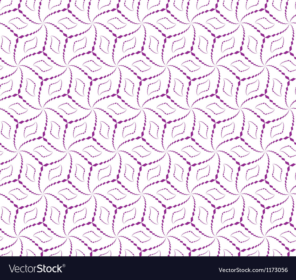 Abstract seamless pattern with cube-shape figures vector | Price: 1 Credit (USD $1)