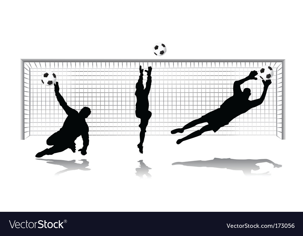 Goal keeper vector | Price: 1 Credit (USD $1)