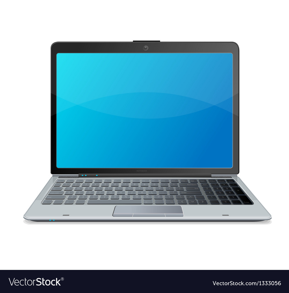 Laptop and mail vector | Price: 1 Credit (USD $1)