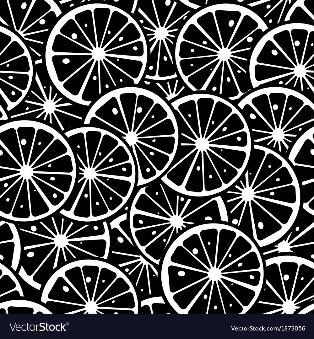 Lemon pattern vector | Price: 1 Credit (USD $1)