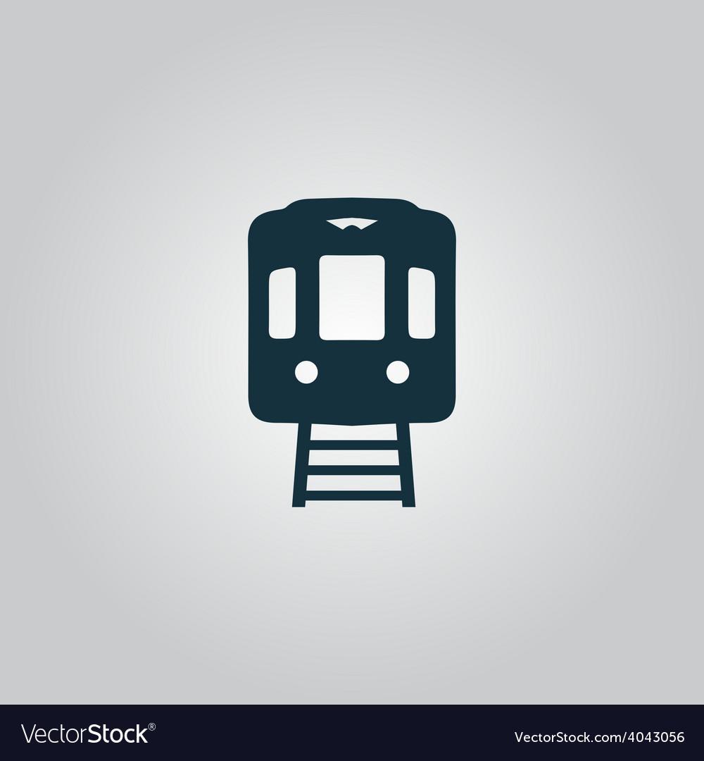 Train icon vector | Price: 1 Credit (USD $1)