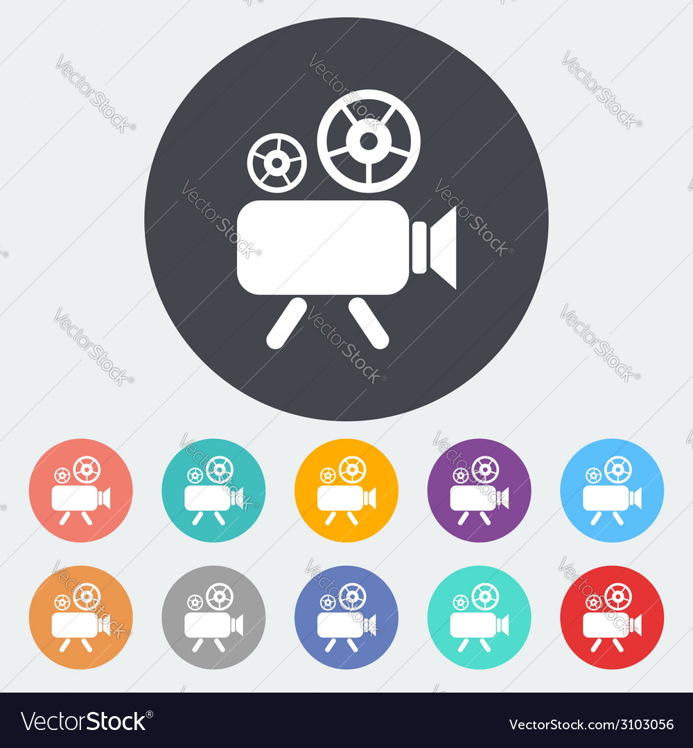 Videocamera vector | Price: 1 Credit (USD $1)