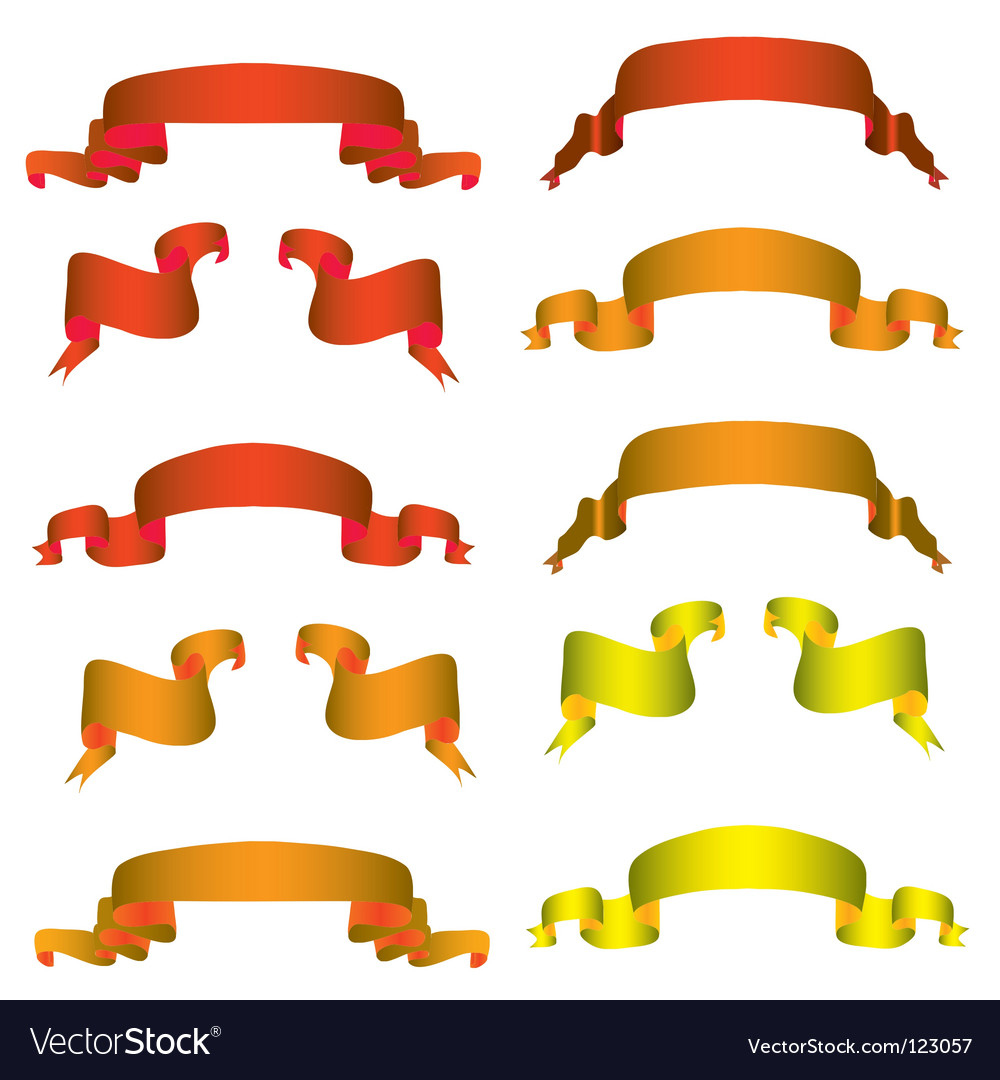 Collection of banners vector   Price: 1 Credit (USD $1)