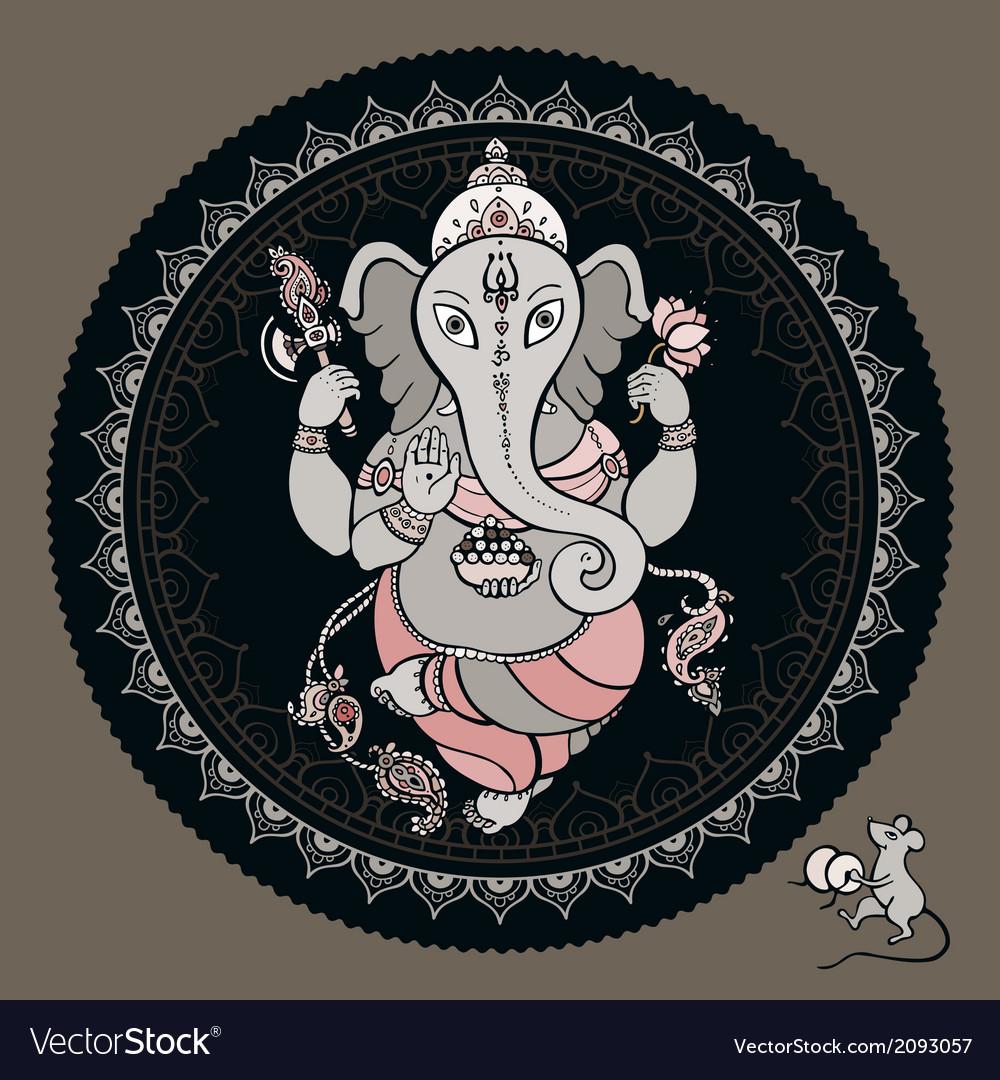 Ganesha hand drawn vector   Price: 1 Credit (USD $1)