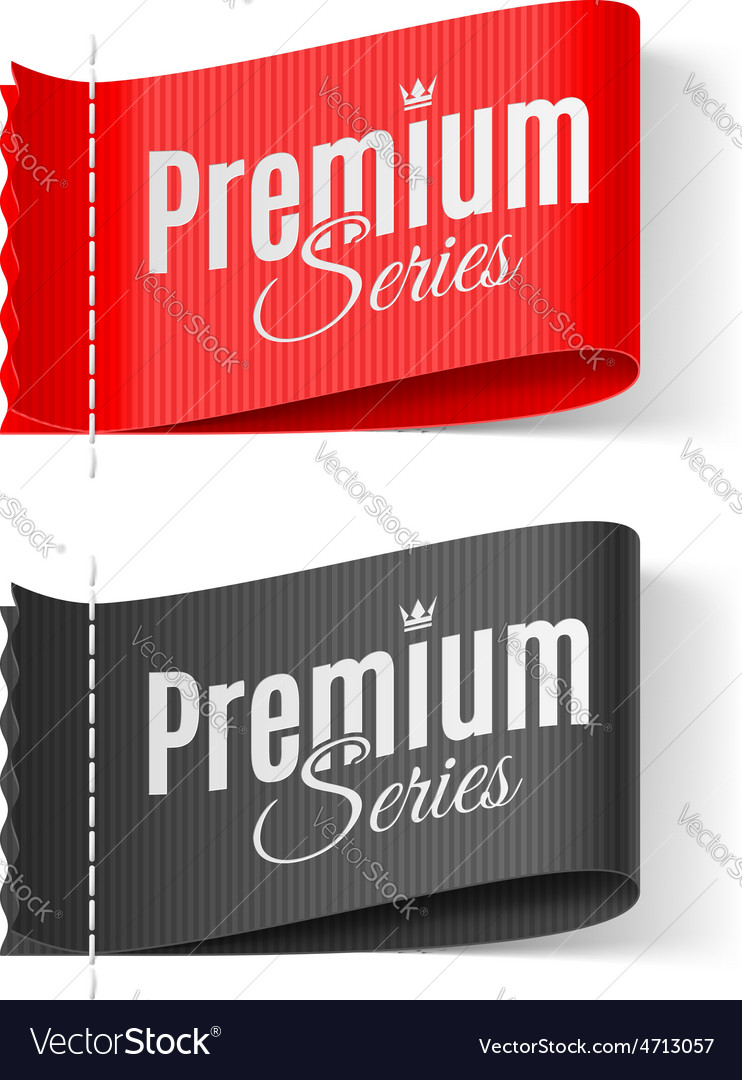 Labels premium series vector | Price: 1 Credit (USD $1)