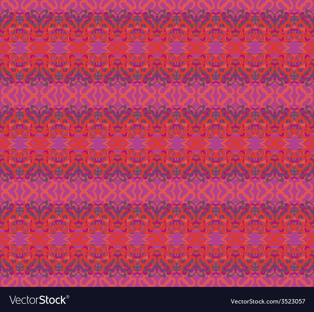 Retro abstract seamless pattern vector | Price: 1 Credit (USD $1)