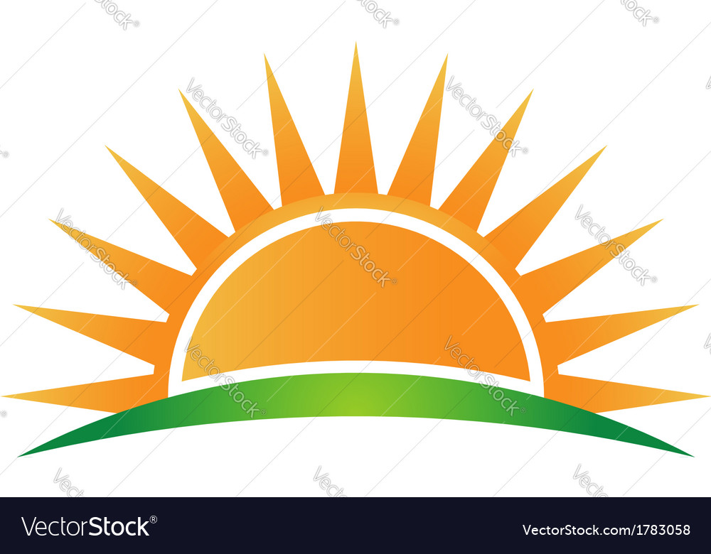 Sunshine logo vector   Price: 1 Credit (USD $1)