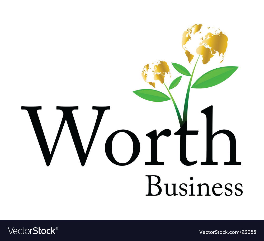 Worth business logo vector | Price: 1 Credit (USD $1)