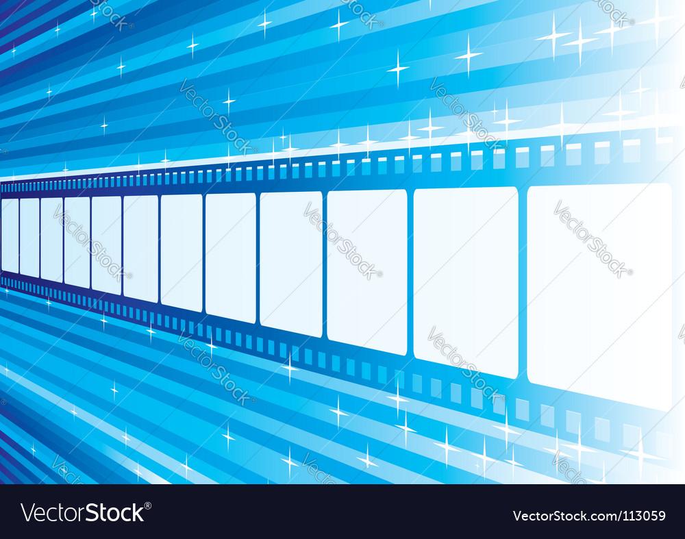 Blue film vector | Price: 1 Credit (USD $1)