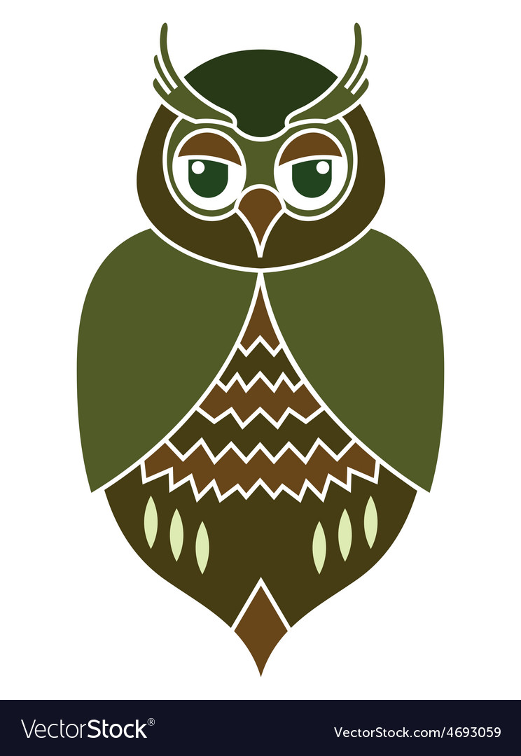 Owl icon1 resize vector | Price: 1 Credit (USD $1)