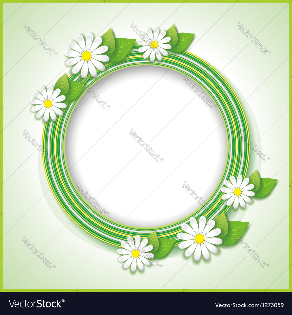 Vintage background with spring or summer flower vector | Price: 1 Credit (USD $1)