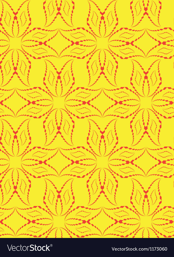 Abstract seamless pattern with cross-shape figures vector | Price: 1 Credit (USD $1)