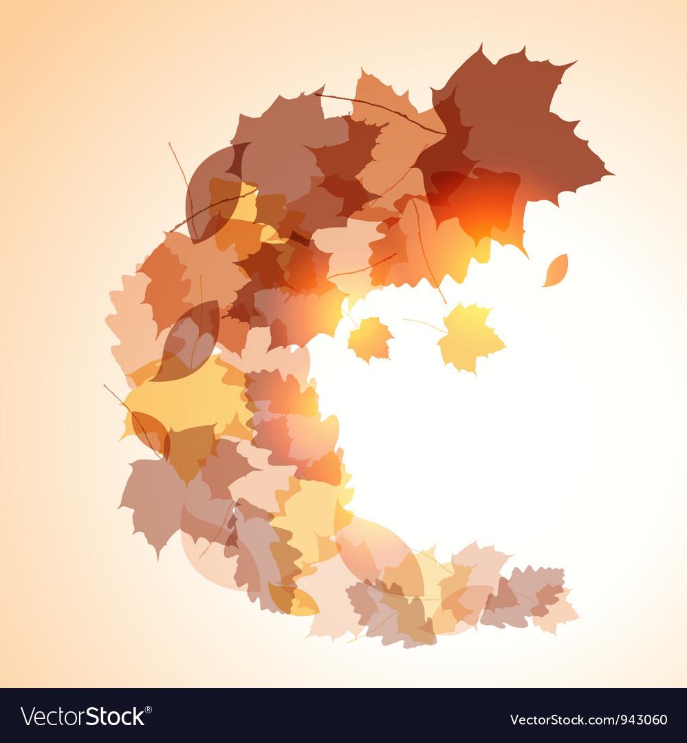 Autumn background vector   Price: 1 Credit (USD $1)