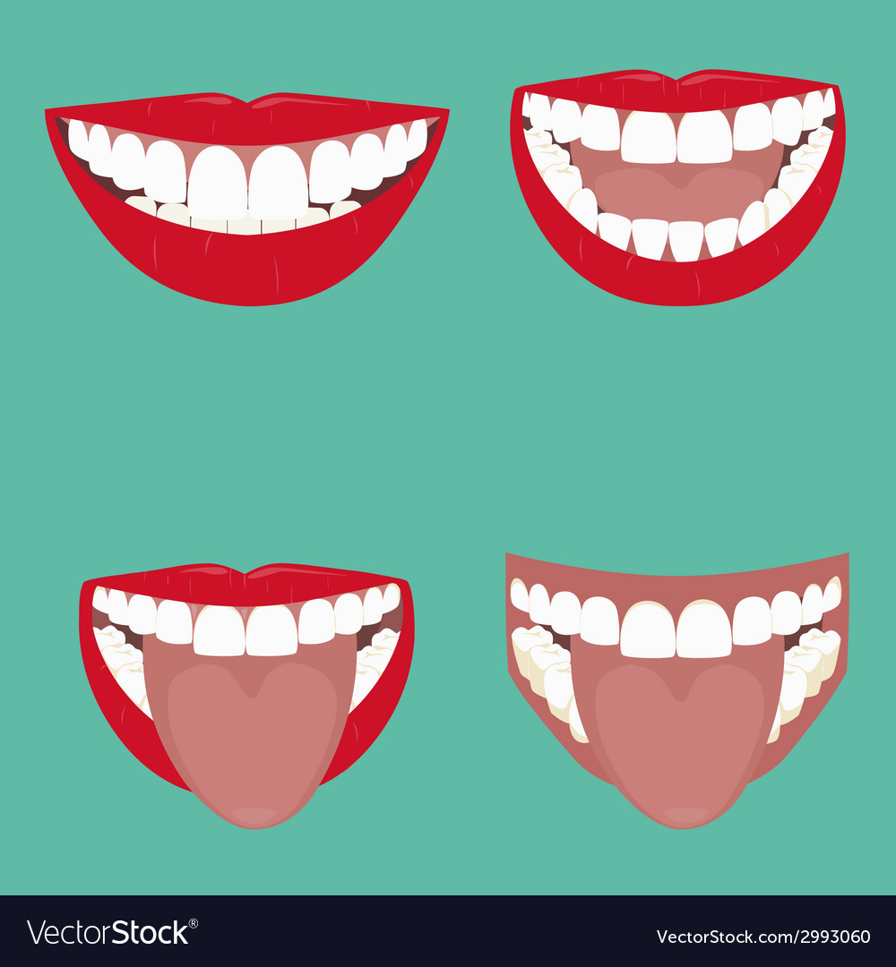 Open mouth vector | Price: 1 Credit (USD $1)