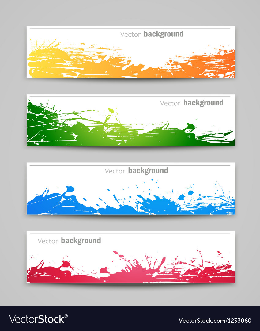 Set of colored backgrounds vector   Price: 1 Credit (USD $1)