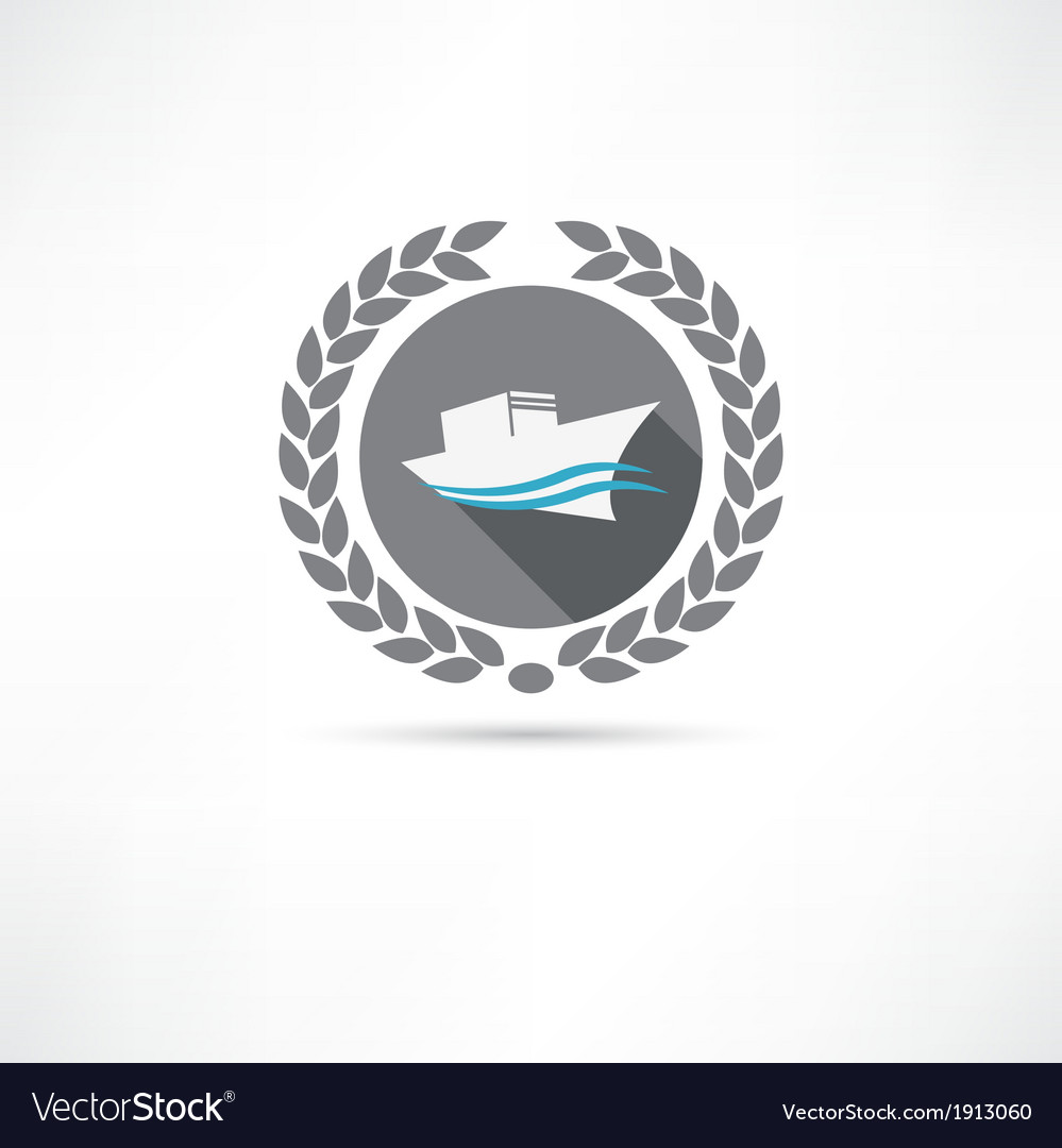 Ship icon vector | Price: 1 Credit (USD $1)