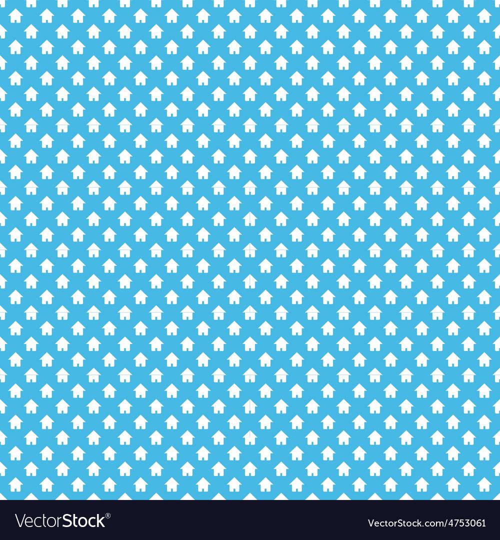 Dense house pattern vector | Price: 1 Credit (USD $1)