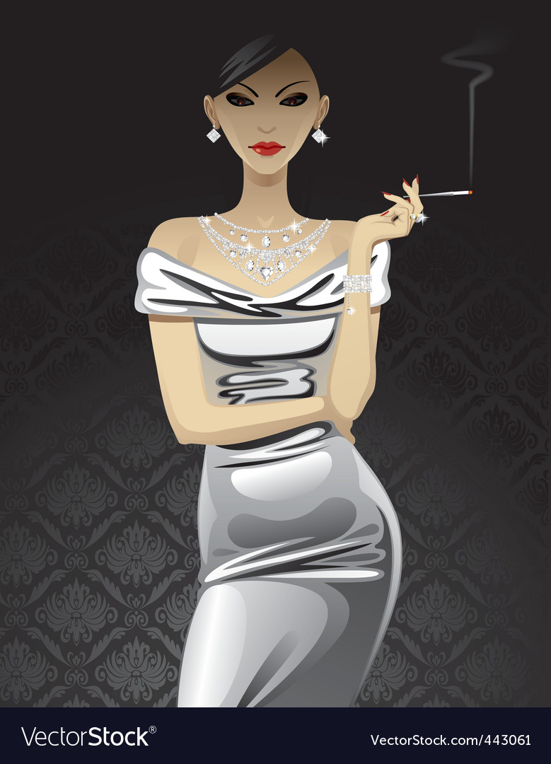 Fashion woman vector | Price: 3 Credit (USD $3)