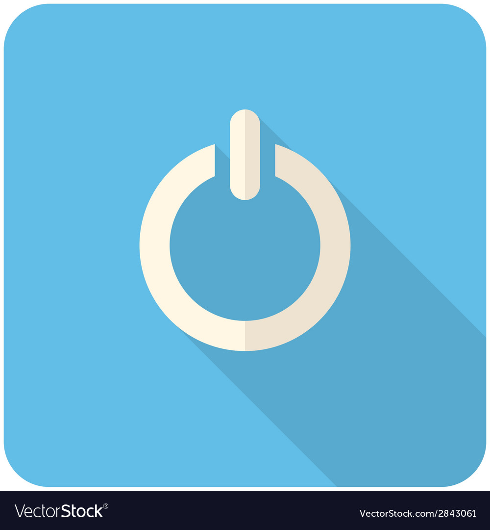 Off icon vector | Price: 1 Credit (USD $1)