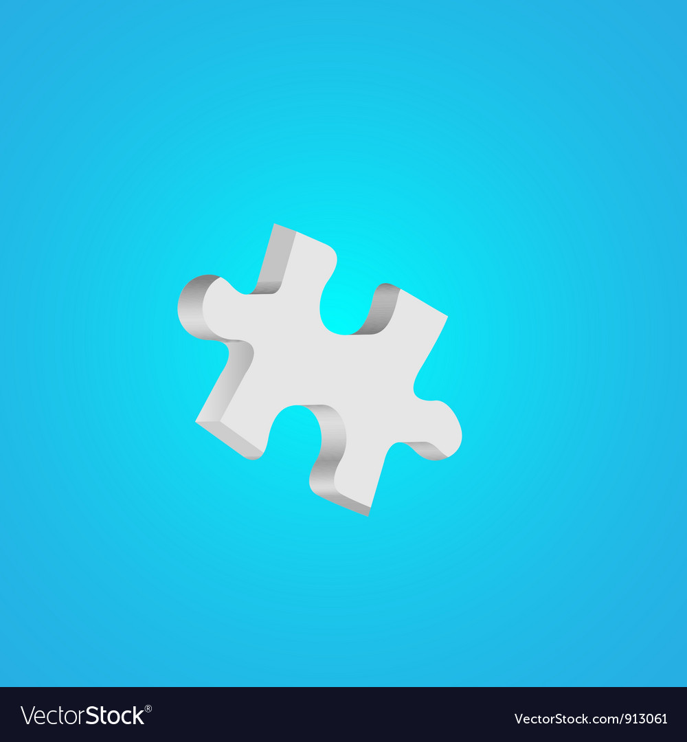 Puzzle background vector | Price: 1 Credit (USD $1)