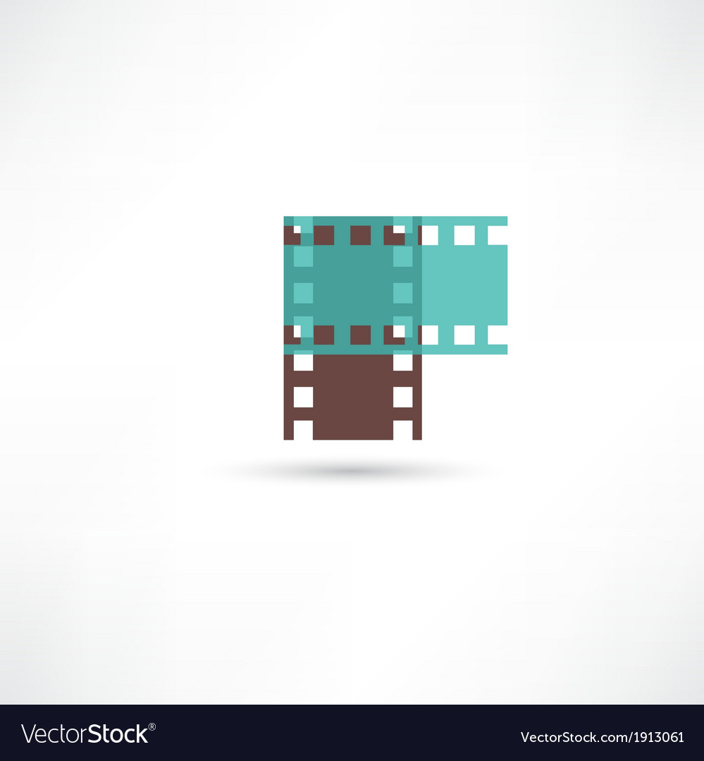 Two film frame vector | Price: 1 Credit (USD $1)